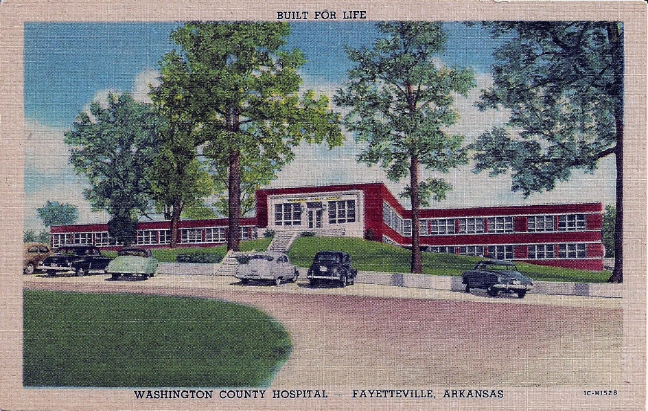Washington County  Hospital, 1950s
