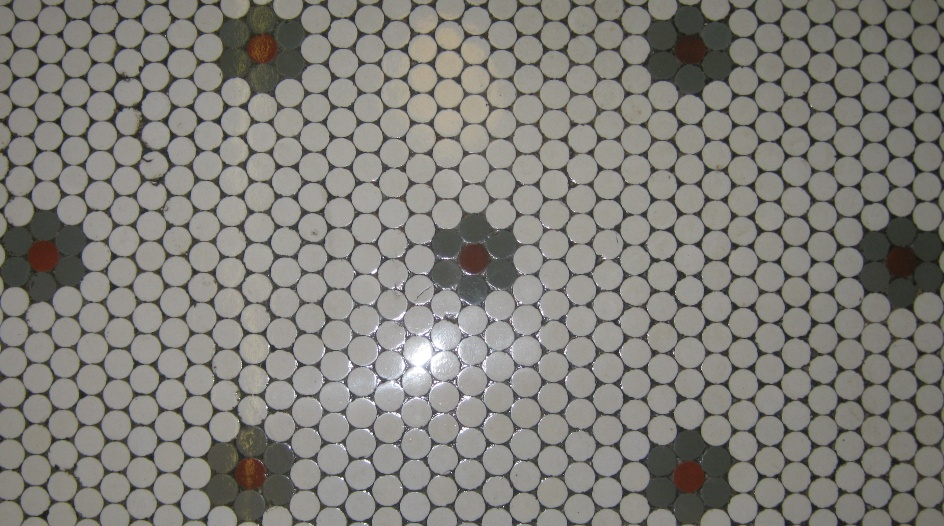 original ceramic tile flooring