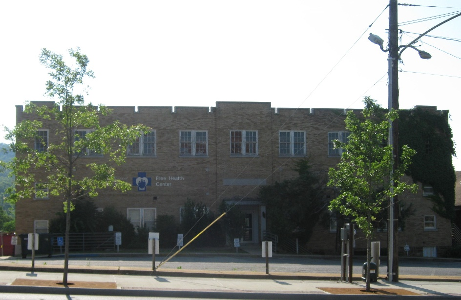 National Guard Armory, constructed 1929