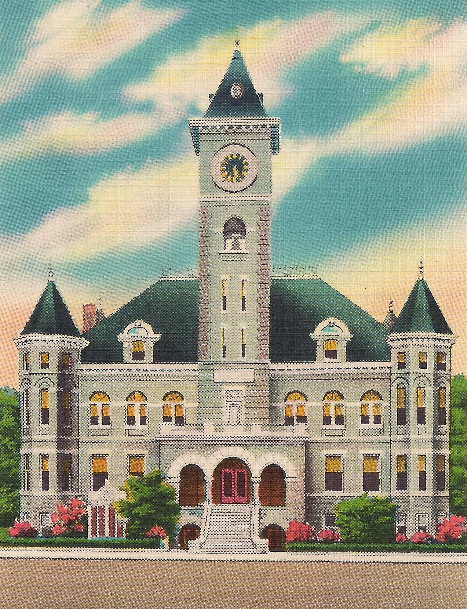 Historic Court House postcard, 1905