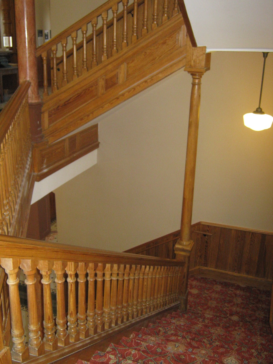 south stairwell