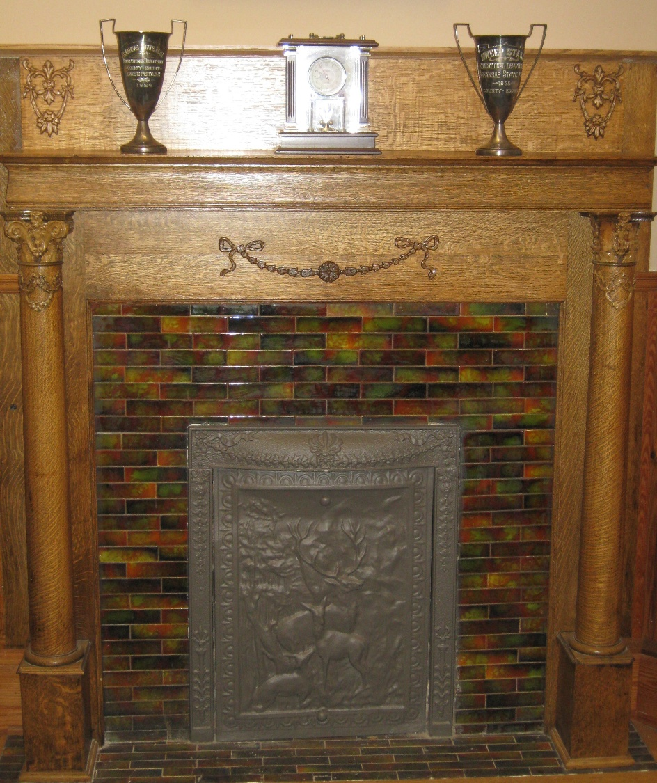1 of 12 coal burning fireplaces