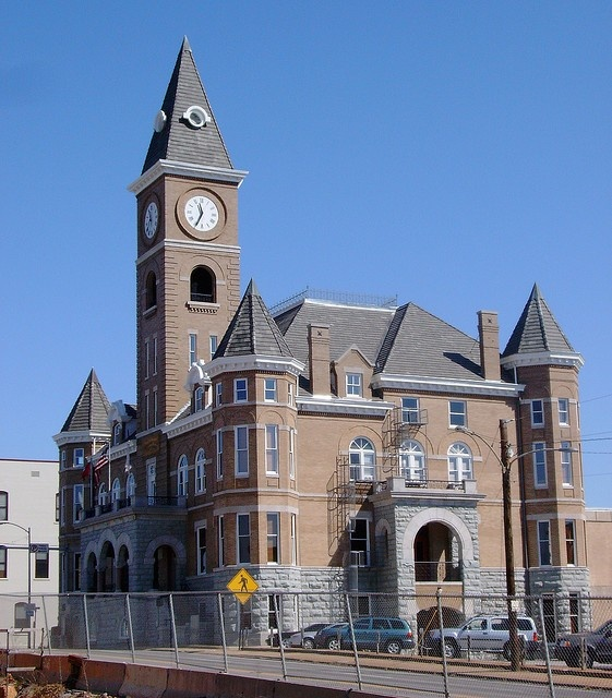 Historic Court House after exterior restoration, 2007