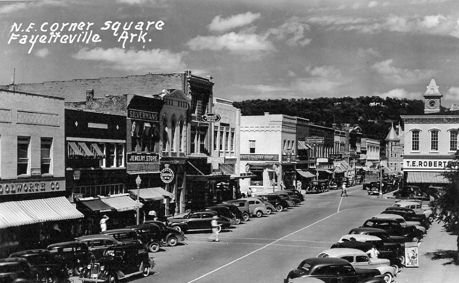 Fayetteville Square, 1941